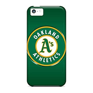 Top Quality Case Cover For Iphone 5c Case With Nice Oakland Athletics Appearance