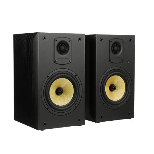 Thonet & Vander Kugel 2.0 700W Wood Bookshelf Speakers with Bluetooth Compatibility...