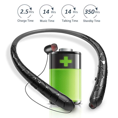 DolTech [Upgraded] Bluetooth Headphones Wireless Neckband