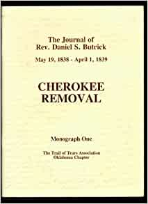 the cherokee removal book review Ined 411 book review trail of tears the authors' name of the book called trail of tears: the rise and fall of the cherokee nation is john ehle.