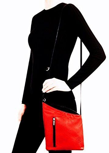 black Bliss Bag Leather Small Handbag Tan Multi And Italian Shoulder Light 4wTvZ