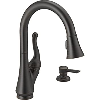 Delta Faucet Arabella Single Handle Kitchen Sink Faucet