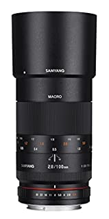 Samyang 100mm F2.8 ED UMC Full Frame Telephoto Macro Lens with Built-in AE Chip for Nikon Digital SLR Cameras (B00VBHS9Q8) | Amazon price tracker / tracking, Amazon price history charts, Amazon price watches, Amazon price drop alerts
