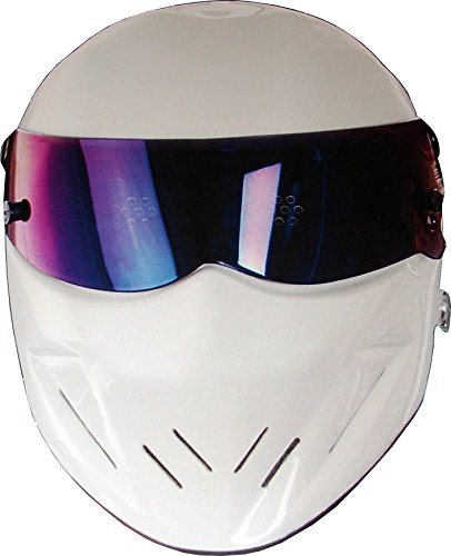 Stig Fancy Dress - Top Gear - The Stig - Card Face Mask
