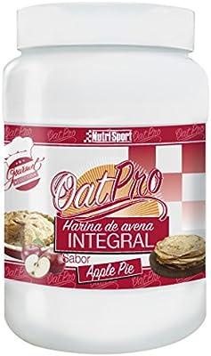 Nutrisport Oatpro Harina de Avena Integral con Sabor a Apple Pie ...