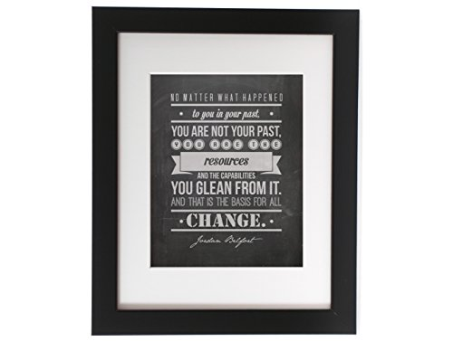 Jordan Belfort No Matter What Quote Inspirational Motivational Typography Poster Print Home Decor 8x10 on 8.5x11 Print