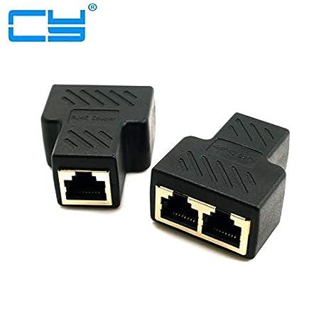 Computer Cables STP UTP Cat6 RJ45 8P8C Stecker Auf Dual RJ45 Splitter Netzwerk Ethernet Patchkabel Adapter Cable Length: Other
