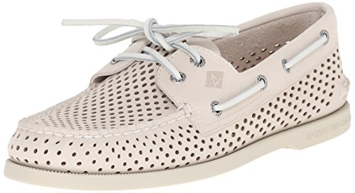Sperry Top-sider Heren Authentieke Originele Laser Perf Bootschoen Ivoor