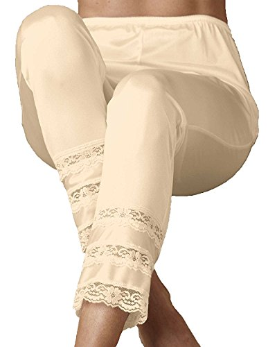Velrose Snip-It Pants' Liner, Beige, 1X - Misses, Womens