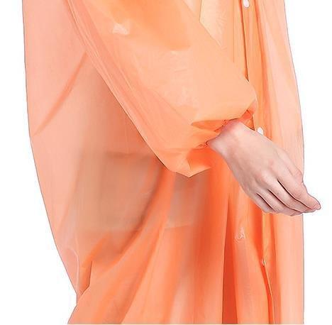 Siamois Y Orange iyu de Transparent Pratique Eva Étanche de l'environnement Sports Protection plein air qB4qOr7