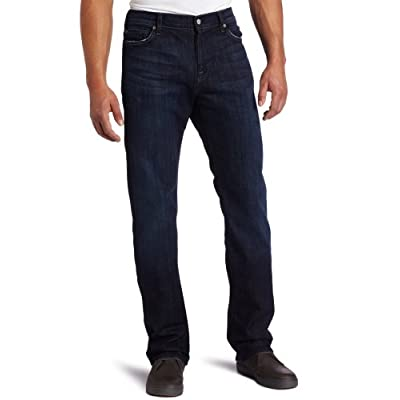 7 For All Mankind Men's Standard Straight-Leg Jean in Los Angeles Dark for cheap