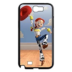 Samsung Galaxy Note 2 7100 Black Cell Phone Case HUBYLW1608 Buzz Lightyear Clear Phone Cases Plastic