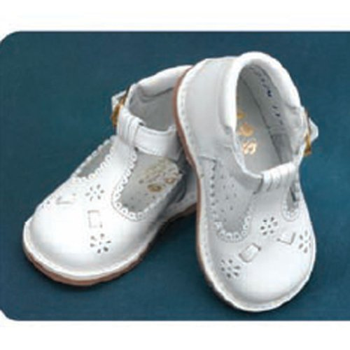 Angels Garment White Shoe Size 4.5 Baby Girl T Strap