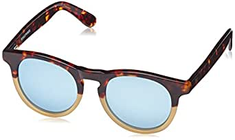 Wolfnoir, HATHI ACE BICOME ICON - Gafas De Sol unisex multicolor (carey marrón/blanco/azul claro), talla única