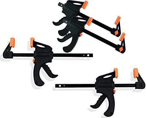 2 Ratchet Bar Clamps Black Duck Brand Ratchet Bar 4 Quick Clamp Converts to 8 Spreader