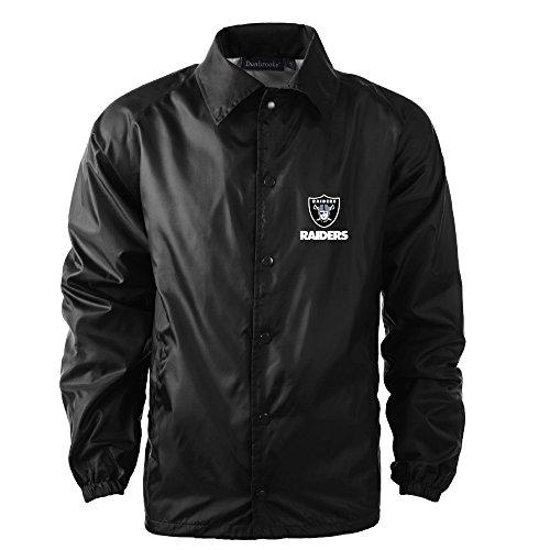 Dunbrooke Apparel Men's Coaches Jacket, Black, ()