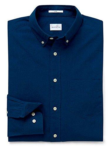 GANT Men's 18013080022989 Blue Cotton Shirt by GANT