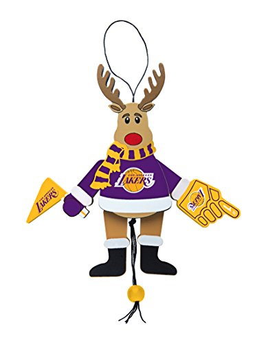 NBA Los Angeles Lakers Wooden Cheer Ornament