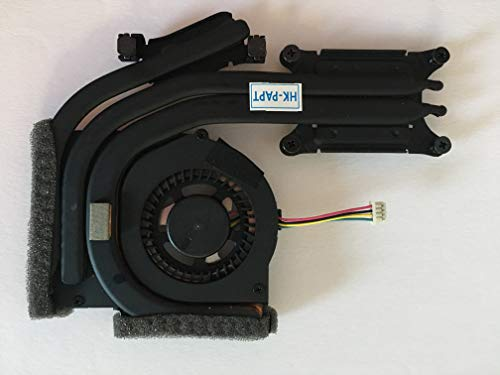 SYW·pcparts Replacement Fan Compatible IBM Lenovo Thinkpad T420S T420SI CPU Cooling Fan with Heatsink DIS FRU P/N 04W1713 4-Pin ()