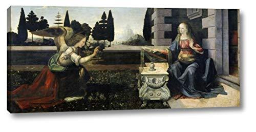 (Annunciation by Leonardo Da Vinci - 16