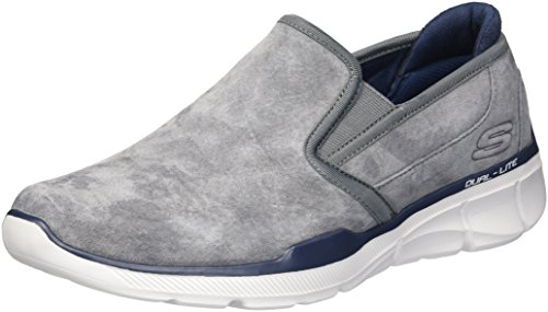 Equalizer Skechers 3 charcoal Gris Substic Enfiler 0 Charcoal Baskets Homme AqrdwqS5
