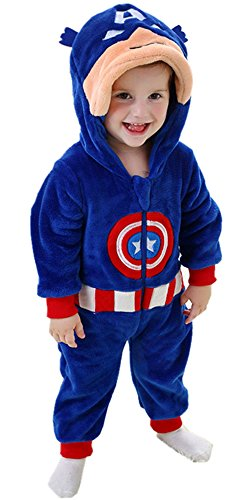 Autumn Halloween Costume (DQdq Unisex Baby Halloween Costume Autumn Outfit Spring Jumpsuits (110/(24-36 Months), Blue))
