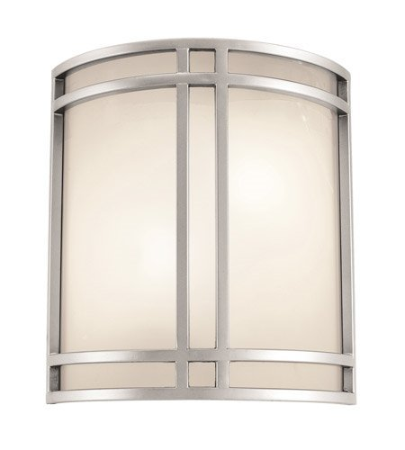 Wall Sconces 1 Light with Satin Tones Finish and Steel Material 11 inch 16 Watts ()