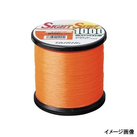 ダイワ(Daiwa)ナイロンラインサイトサーフII1000m3号ホットオレンジの画像