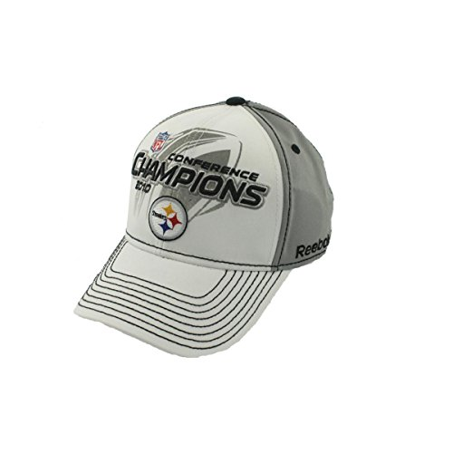 NFL Reebok Pittsburgh Steelers 2010 AFC Conference Champions Locker Room Hat