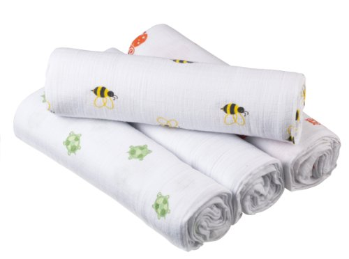aden anais Swaddleplus Lifes 4 Pack product image