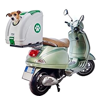 Pow Pet ON Wheels ➤El Mejor Baúl para llevar tu mascota en moto o bici de 2019