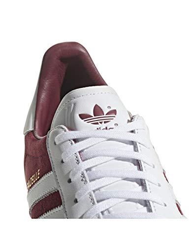 ftwr ftwr White Gazelle White Rojo Gimnasia De Hombre Adidas Burgundy Collegiate Para collegiate Zapatillas White zxdwq6P