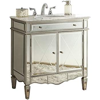 36 Mirrored Bathroom Sink Vanity Model Bwv 02536 Ashley