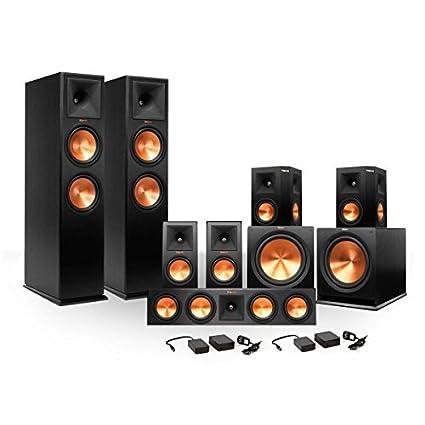 Klipsch Surround Sound >> Amazon Com Klipsch 7 2 Rp 280 Reference Premiere Surround