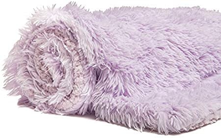 18x 18 Chanasya 3-Piece Super Soft Shaggy Throw Blanket Pillow Cover Set 50x65 - For Bed Couch Chair Sofa Chic Fuzzy Faux Fur Elegant Fleece Sherpa Throw Chocolate /& Two Throw Pillow Covers