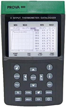 PROVA 800 マルチ入力温度計/データロガー