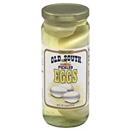 Old South Southern Style Pickled Eggs 16 Oz Jar