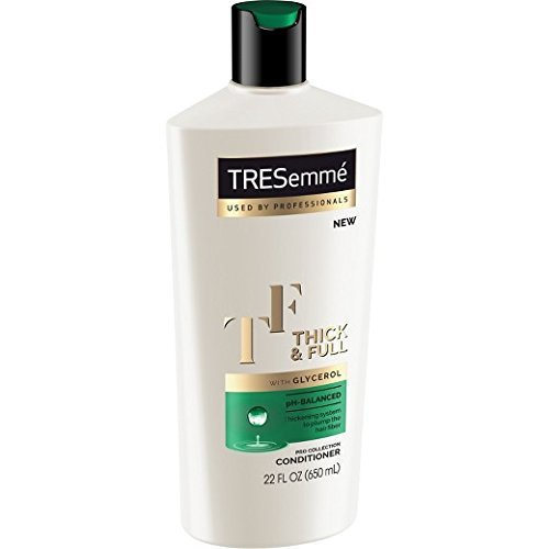 Tresemme Pro Collection Haircare - Thick & Full - With Glycerol - Shampoo & Conditioner Set - Net Wt. 22 FL OZ (650 mL) Per Bottle - One Set