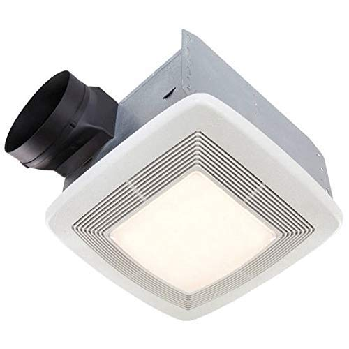 Bathroom Super Quiet Exhaust Fan - Broan Very Quiet Ventilation Fan and Light Combo for Bathroom and Home, ENERGY STAR Certified, 36-Watt Fluorescent Light, 4-Watt Nightlight, 110 CFM