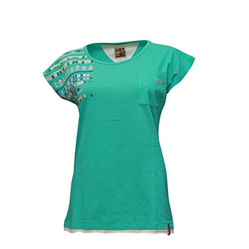 Tee shirt Femme Courtes Xl Madrid Abk Manches Turquoise T À pacific 5aUn6ntwq
