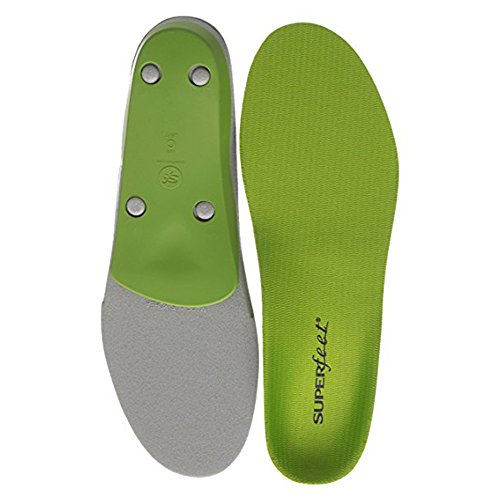 Superfeet Insoles, AECKY Soft Gel and Flimsy Foam Full Length Insole, Green – DiZiSports Store
