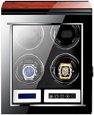 時計ワインダー12時計は、複数のスポーツモード反磁化の設計と LED ライト、高品質の超静かな動きと詩野さん塗料があります。