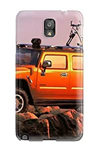 Durable Defender Case For Galaxy Note 3 Tpu Cover(hummer For Laptop )