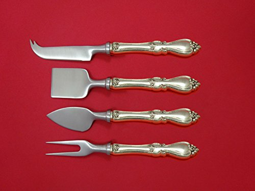 Queen Elizabeth I by Towle Sterling Silver Cheese Serving Set 4pc HHWS (Queen Elizabeth Cheese)