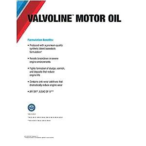 Valvoline Premium Conventional 5W-20 Motor Oil - 5qt (779310)