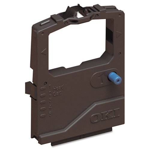 Microline Nylon Printer Ribbon, w/ Re-Inker, Black Qty:18