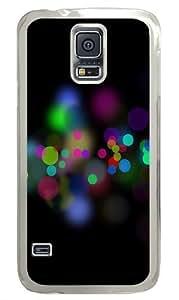 Circles Bokeh Custom Samsung Galaxy S5/Samsung S5 Case Cover Polycarbonate Transparent