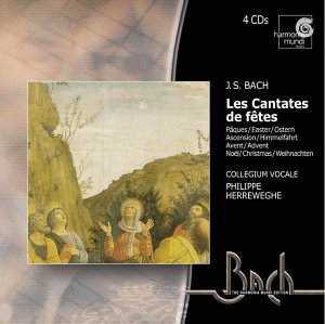Bach: Festive Cantatas - Easter, Ascension, Advent, Christmas by Harmonia Mundi Fr.