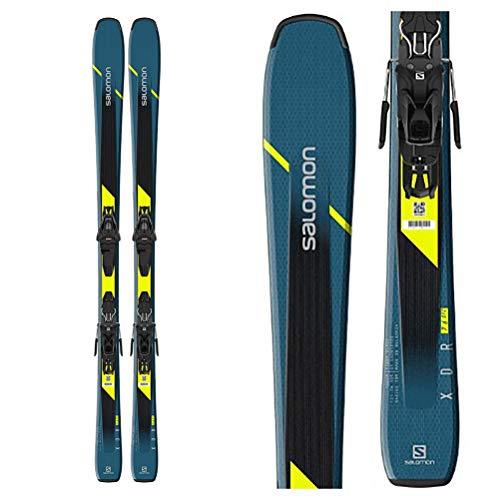 Salomon XDR 76 ST C Mens Skis 170 w/L10 GW Bindings Mens Sz 170cm Blue/Black
