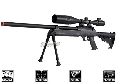 echo 1 full metal asr bolt action sniper rifle